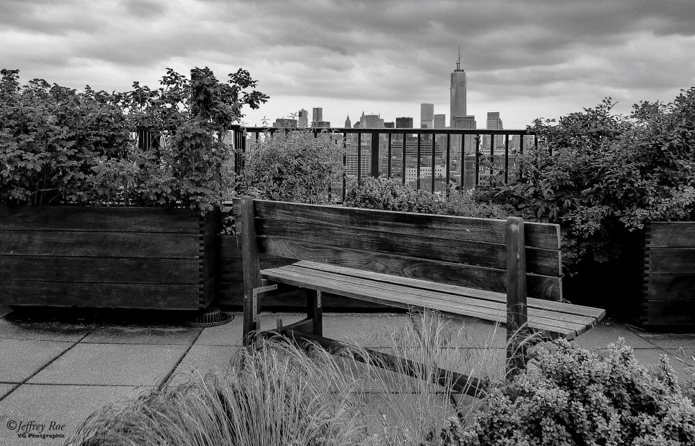 Photo in Cityscape #black and white #new york skyline #downtown #west village #world trade center #cityscape