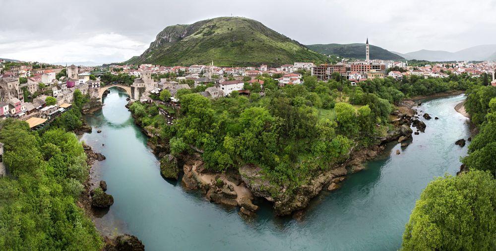 Photo in Cityscape #mostar #bosnahersek #canon