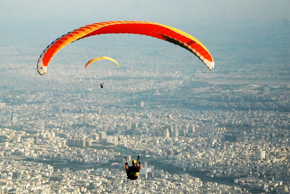 Photo in Random #paraglider #tehran