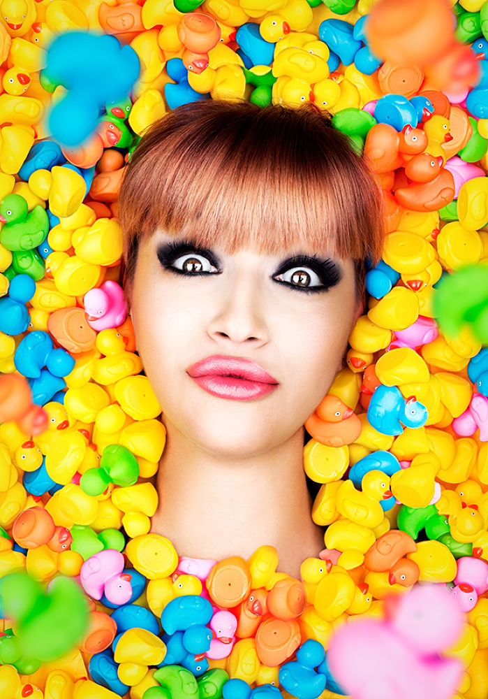 Photo in Portrait #duck #face #yellow #lips #funny #irony #colors #portrait #closeup #icon #ppetkov #eyes #sharp