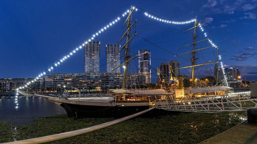 Photo in Cityscape #buque #museo #uruguay #corbeta #madero #puerto