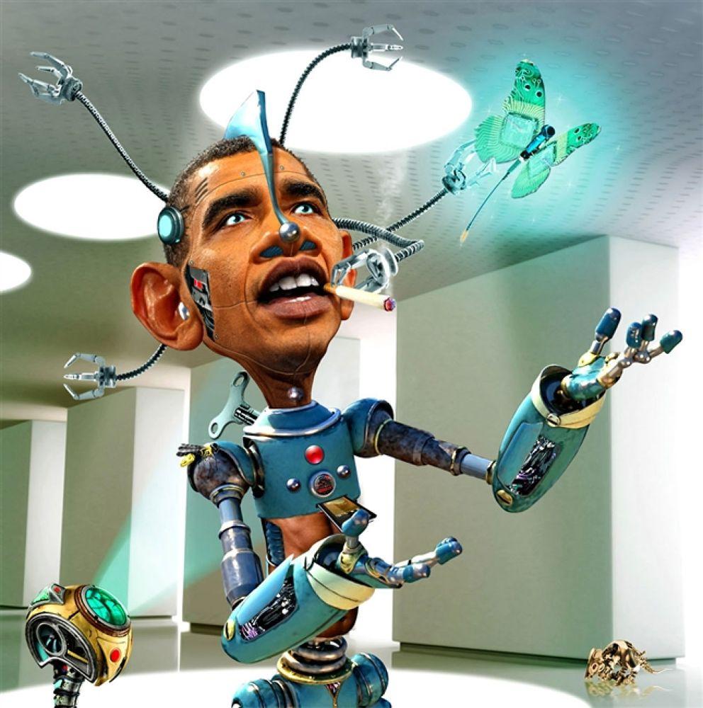 Photo in Random #obamabot #2.0