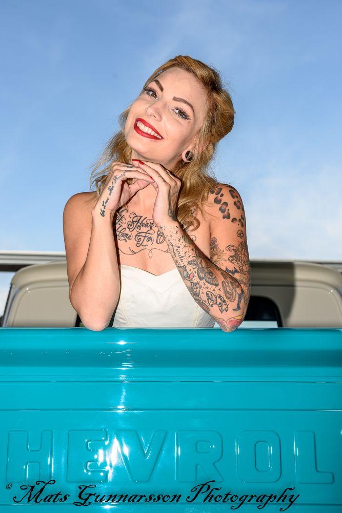 Photo in Random #classic car #pinup