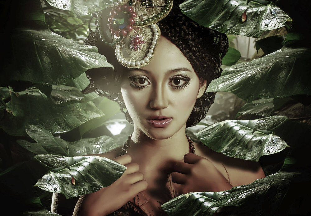 Photo in Random #potrait #fashion #mua #indonesia