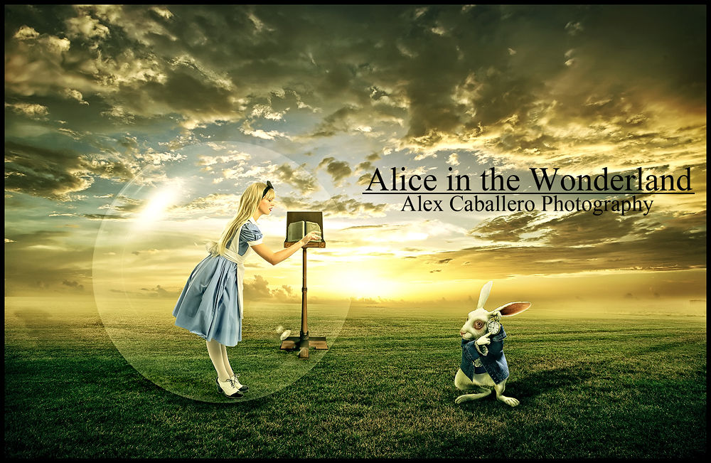 Photo in Fine Art #alice  alicia  wonderland #fine art #digital art