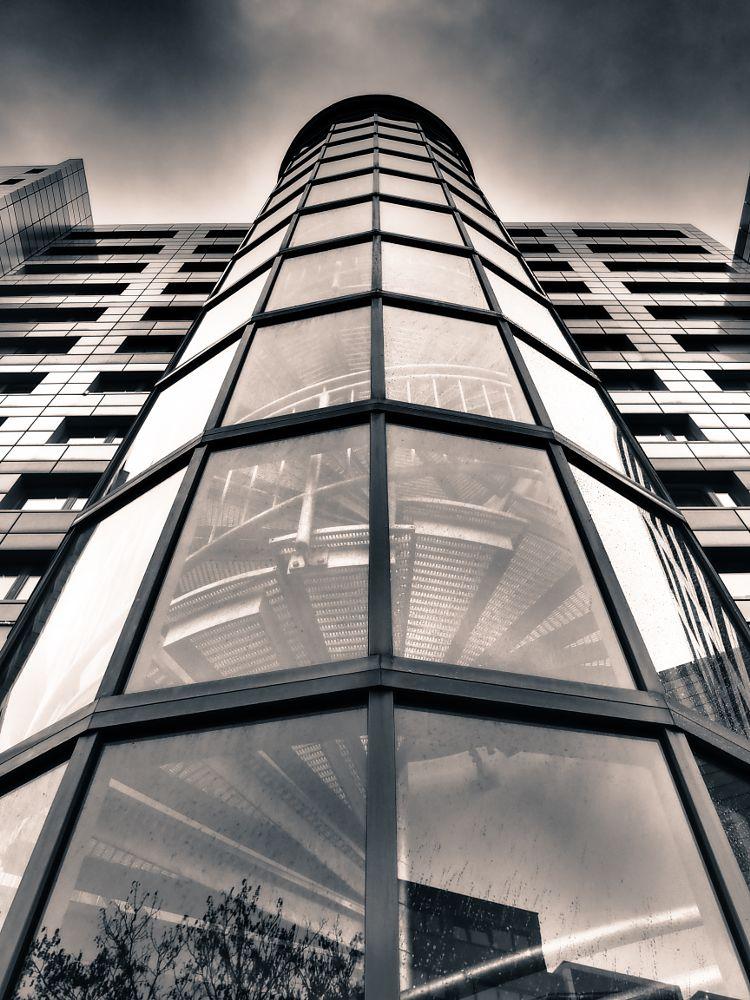 Photo in Architecture #berlin #building #black & white