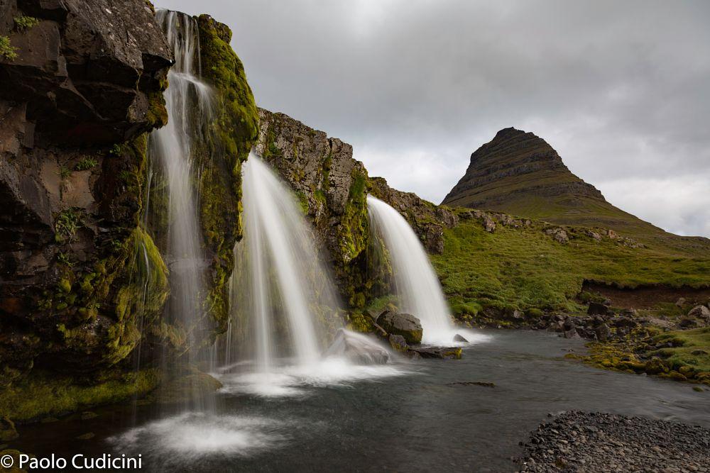 Kirkjufellfoss Waterfall. Iceland