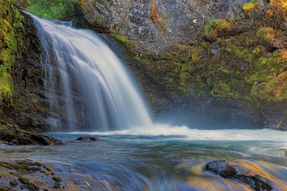 Photo in Landscape #waterfall #nature #river #canada #wilderness #beauty