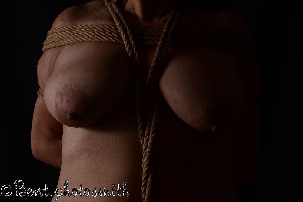 Photo in Nude #shibari #rope bonadge