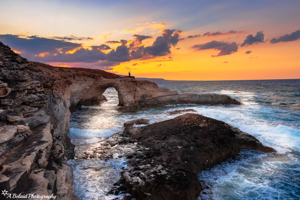Photo in Landscape #sunset #sea #landscape #libya #nature #sun