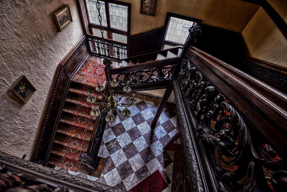 Photo in Fine Art #medieval #rubens castle #stairway #art #flanders #baroque
