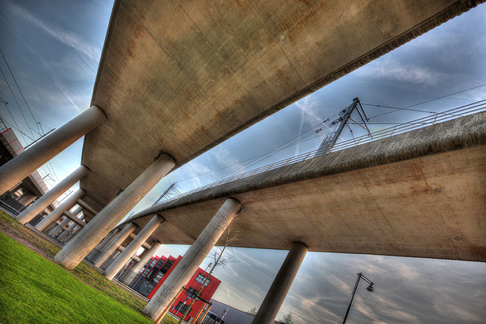 Photo in Architecture #richard marks #architecture #train station #amsterdam #richard marks photography #richard marks fotografie