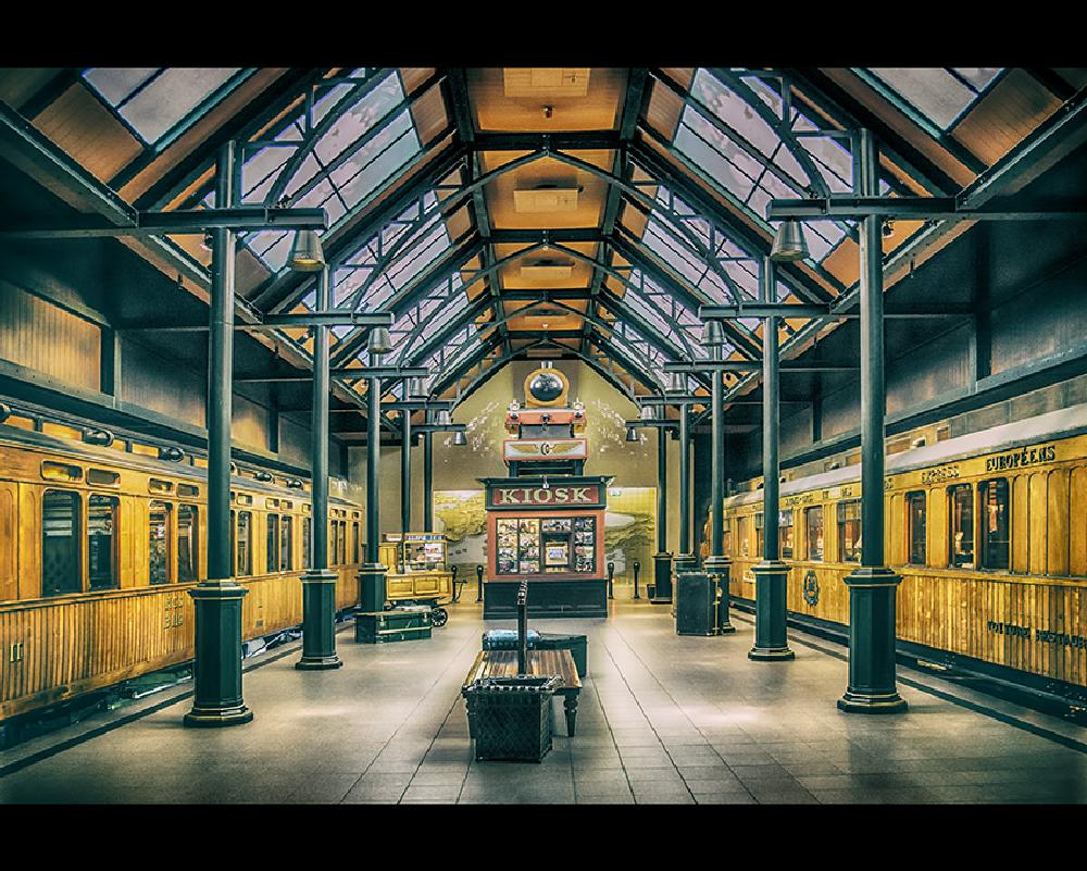 Photo in Architecture #trains #station #trainstation #richard marks #marks foto's #richard marks fotografie #richard marks photography #utrecht #museum