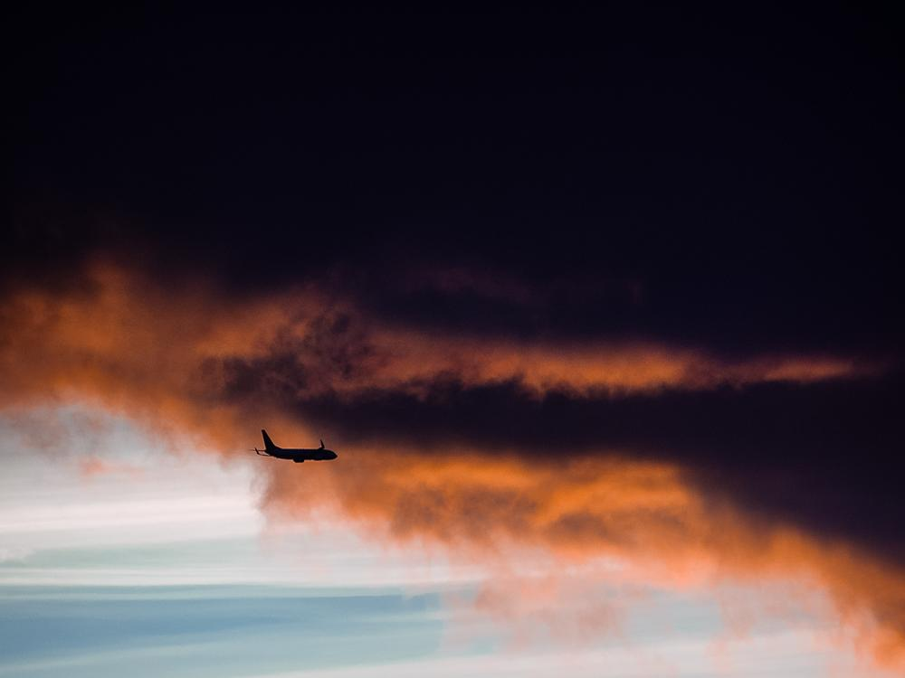 Photo in Random #airplane #sky #samolot
