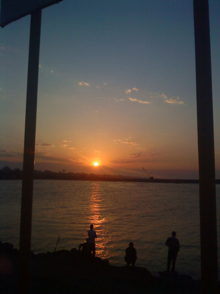 Photo in Landscape #sunset #sea #iran #gilan #matak