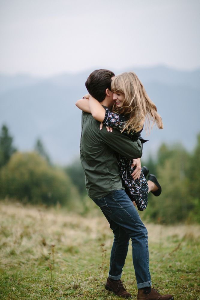 Photo in People #arm #love #couple #two #green #smile