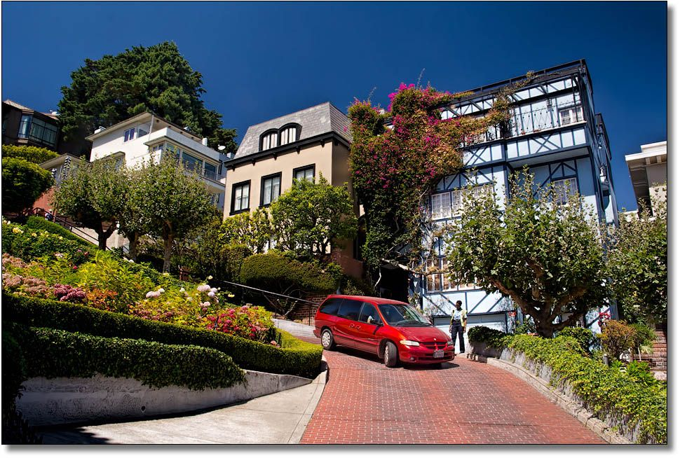 Photo in Cityscape #streets #san francisco #lombard street #california #icon #usa #famous places