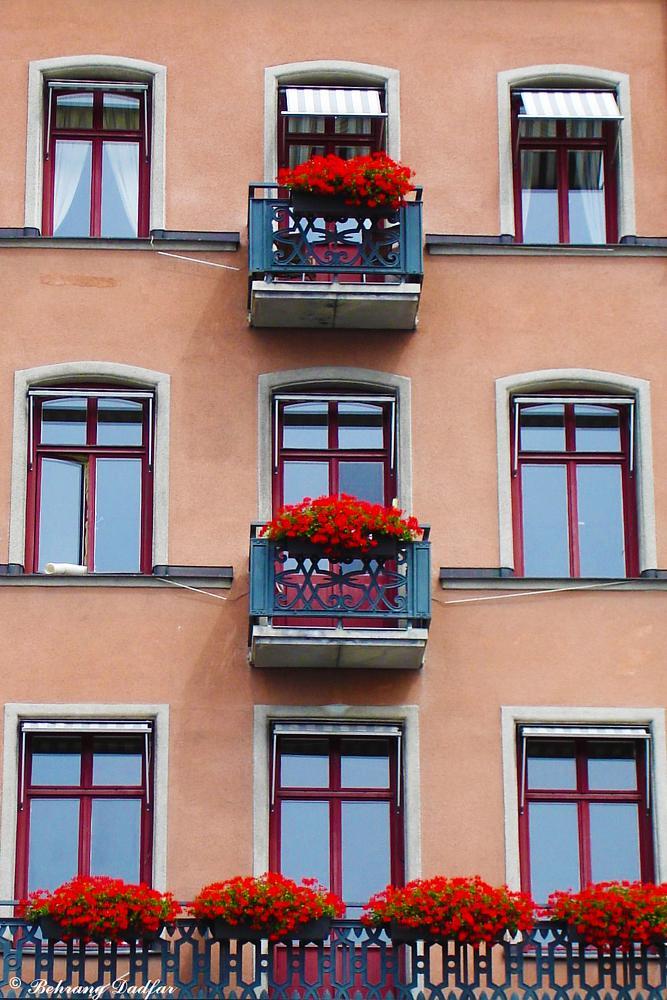 Photo in Cityscape #city #balcony #flowers