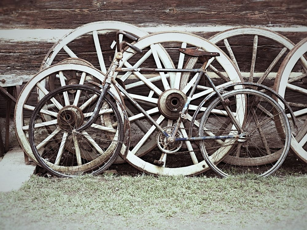 Photo in Random #bike #old #vintage