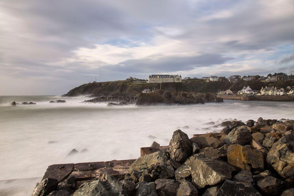 Photo in Sea and Sand #storm  seascape scotland #seascape #scotland