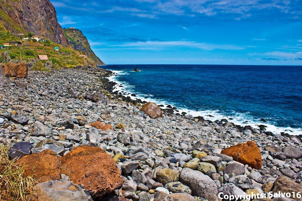 Photo in Nature #volcano #erosion #geology #lava #eruption #mineral #atlantic #ocean #seascape #beach #pebbles #evolution