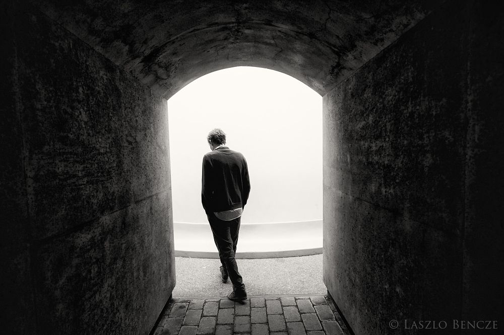 Photo in Black and White #art #portrait #b&w #black and white #monochrome