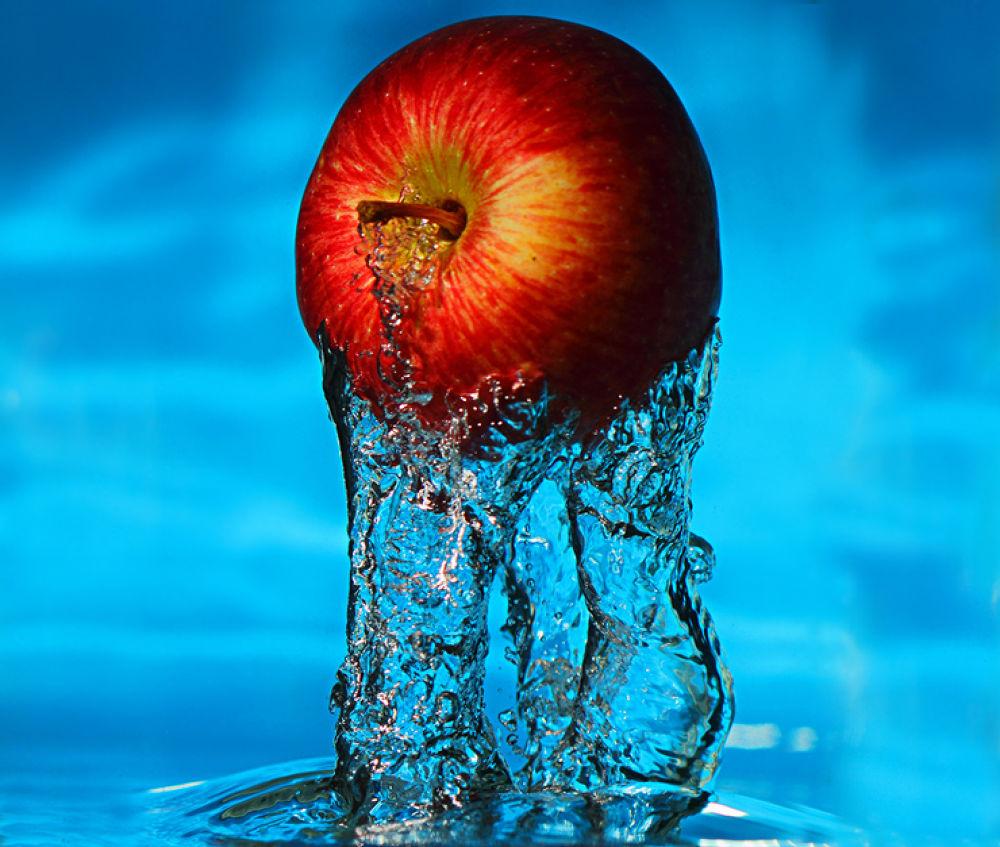 Photo in Underwater #apple #underwater