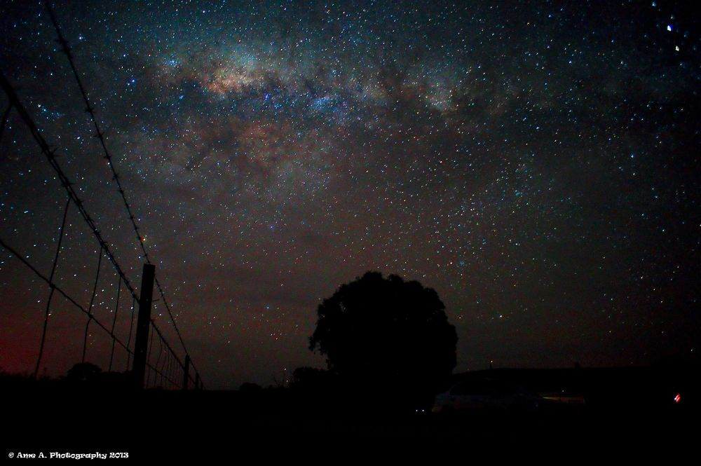 Photo in Random #ypa2013 #milkyway #nsw #sydney #australia #cowra #inspiration #views #stars #galaxy #scenery #nightphotography #night #darkness