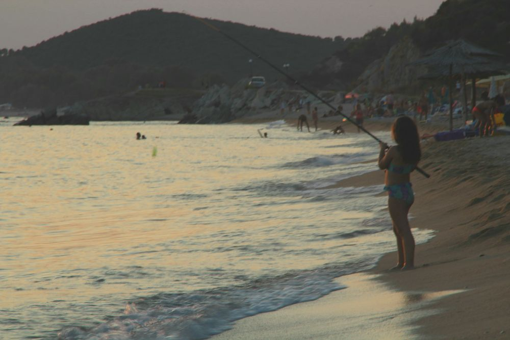 Photo in Sea and Sand #gone #girl #sea #afternoon #lone #small