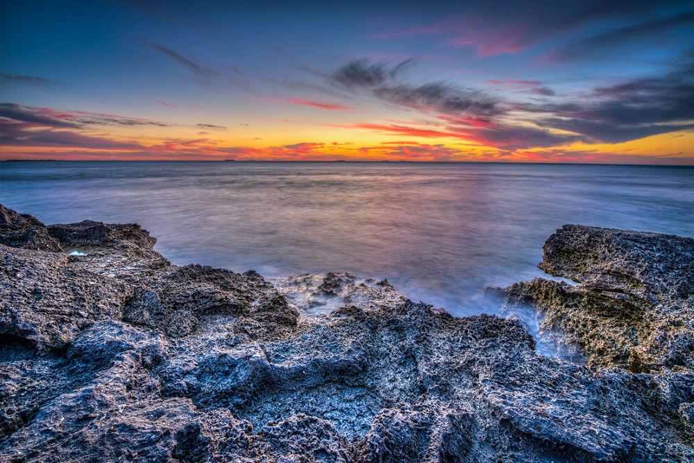 Photo in HDRI #hdr #d800e #sunset #coastal #western australia #spring