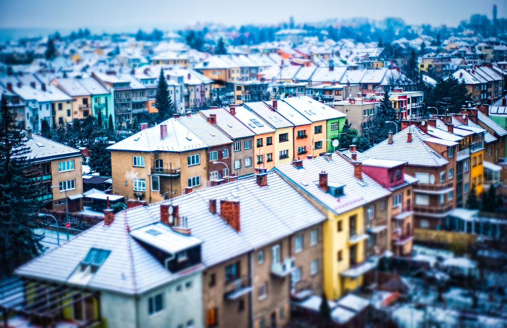 Photo in HDRI #hdr #d3 #miniature #brno #czech republic #europe #winter