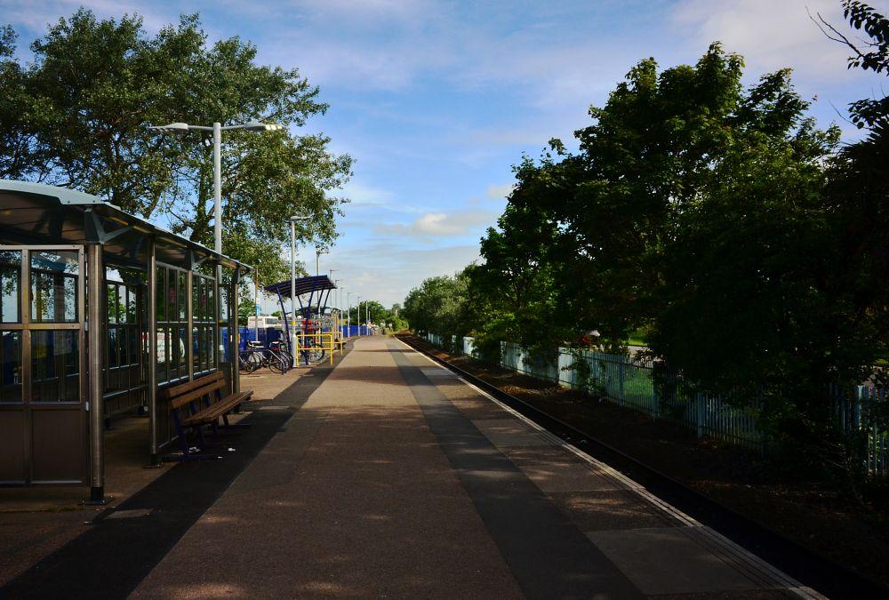 Photo in Travel #railway #platform #exmouth