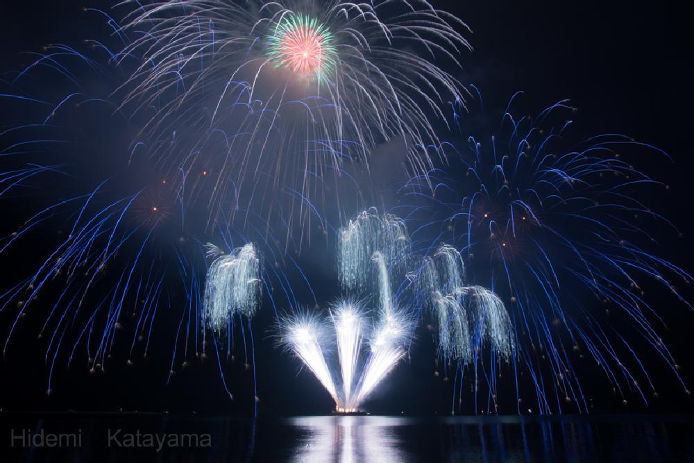 Photo in Fine Art #fireworks #night #light #beautiful