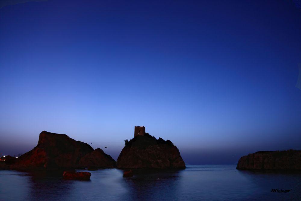 Photo in Travel #şile #castle #sea #bluesky