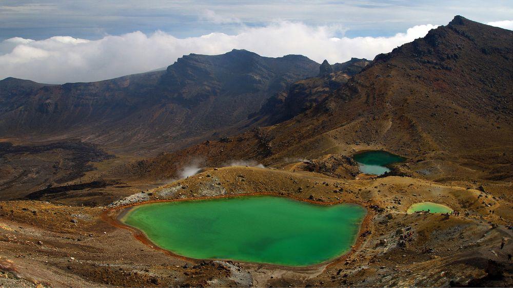 Photo in Landscape #mountain #volcano #lakes