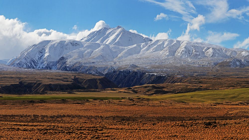 Photo in Landscape #mountains #highlands #new zealand