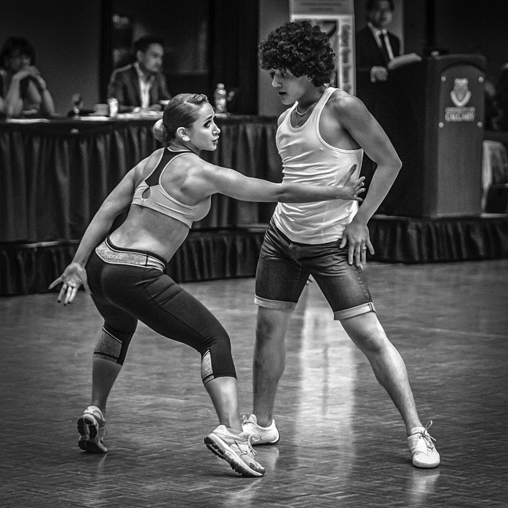 Photo in People #dancers #competition #couple #performance #john watson #calgary #alberta #dance