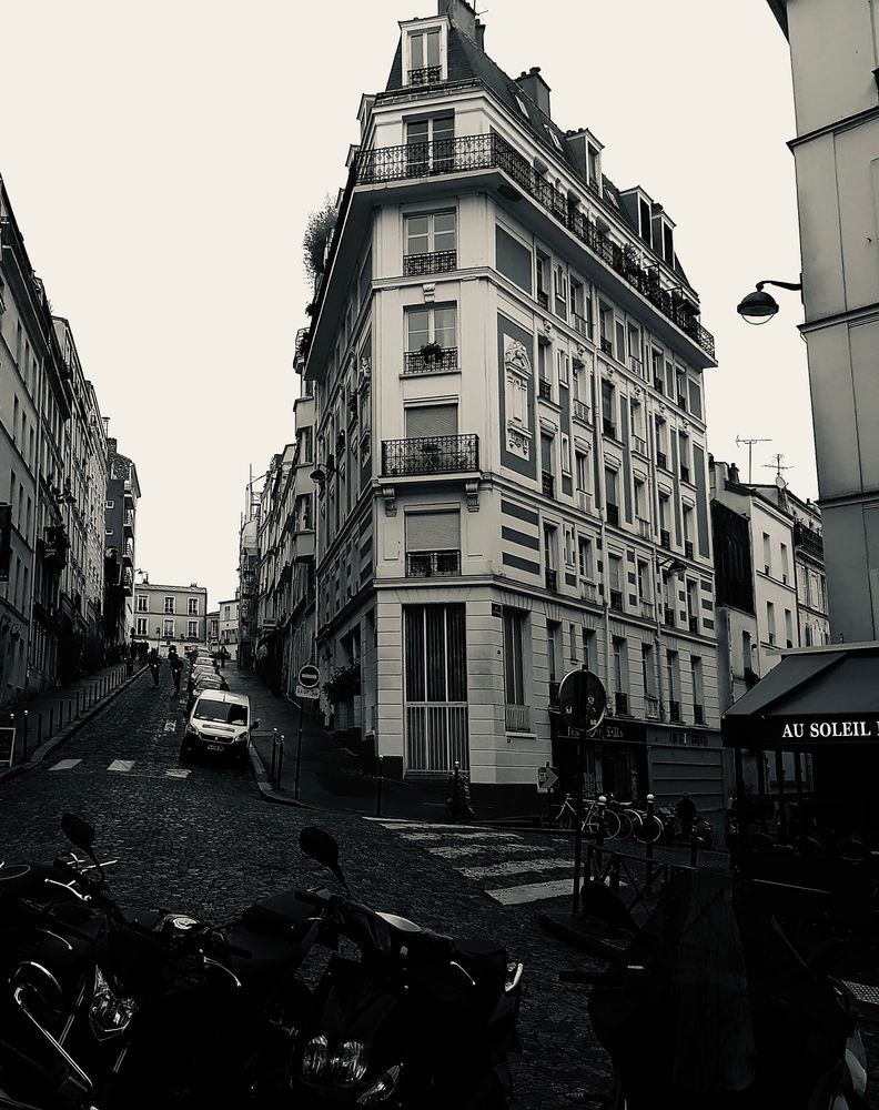 Photo in Street Photography #paris #france #travel #black and white #street #street photography #urban