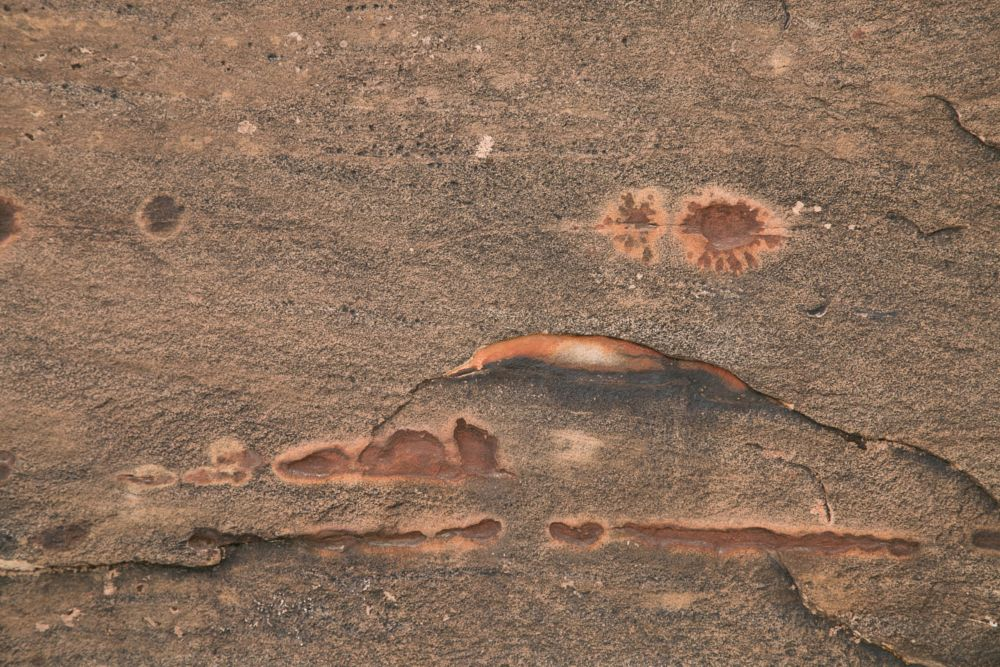 Photo in Abstract #sandstone #desert #rock art #rocks