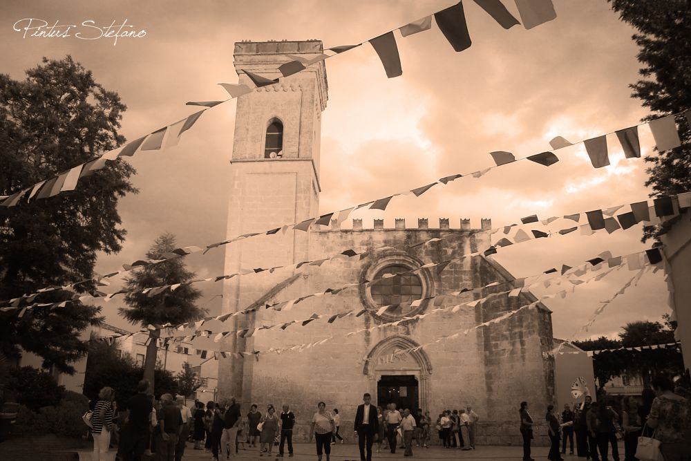 Photo in Architecture #tramonto #nuvole #messa #religione