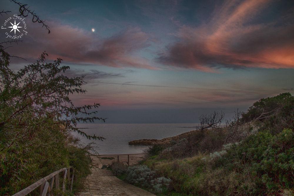 Photo in Random #mare #tramonto