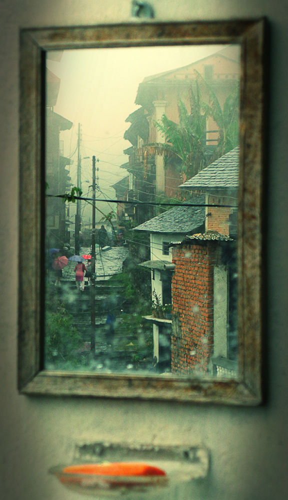 Photo in Random #bandipur #reflection #nepal village #nepal