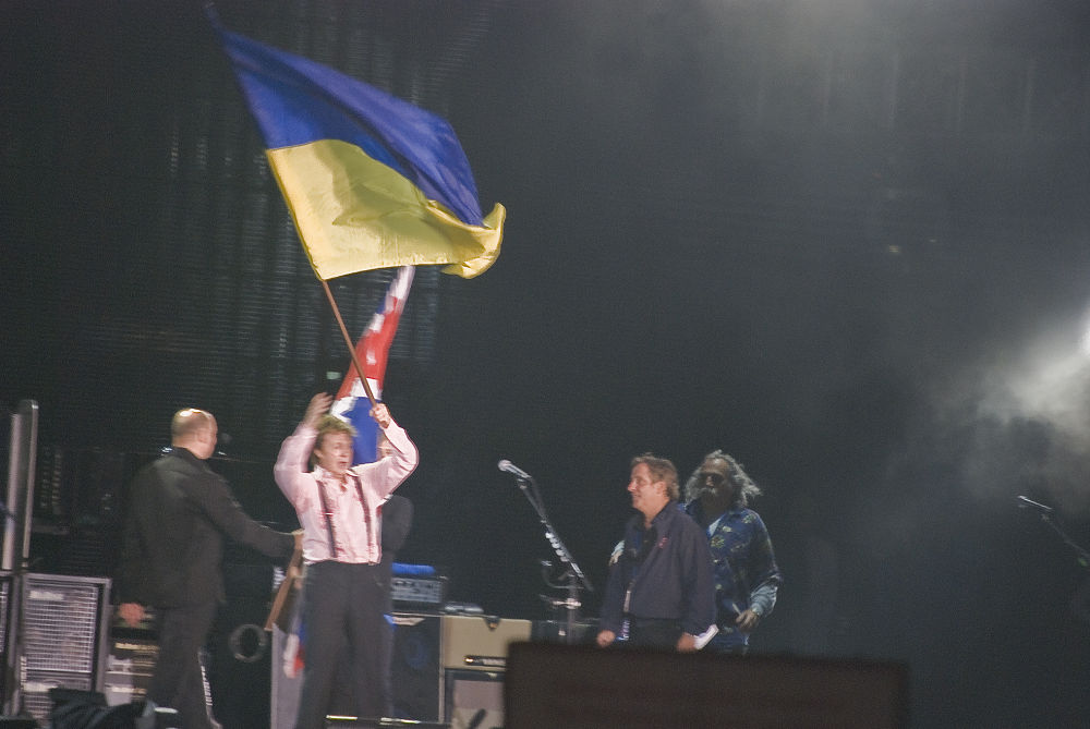 Photo in Random #ypa2013 #ukraine #paul mccartney #kyiv #beatles #concert