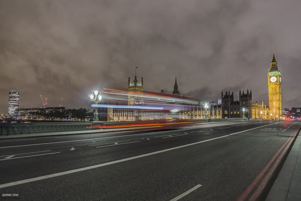 Photo in Landscape #big ben #london #westminster bridge #long exposure #night photography #nightscape #sony a6000