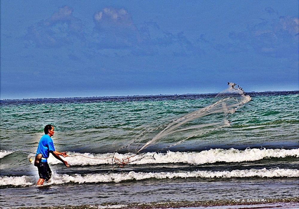 Photo in Random #fishing net #real bay