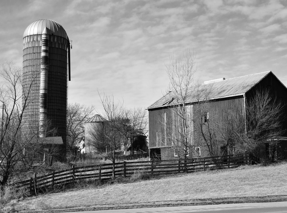 Photo in Street Photography #bw #black and white #rural #street #street photography #illinois farms