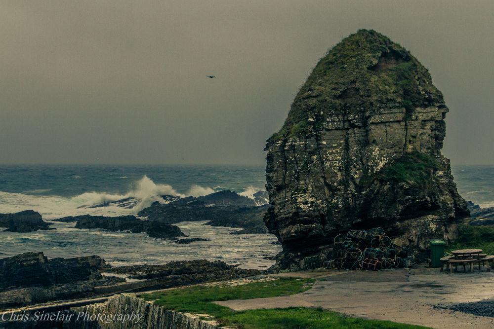 Photo in Landscape #sea #rough seas #wild weather #stacks #landscape #seascape #marine