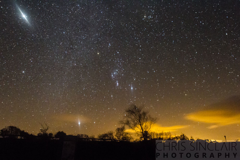 Photo in Astrophotography #astrophotography #night shot #stars #orion #jupiter #sirius #long exposue #milky way