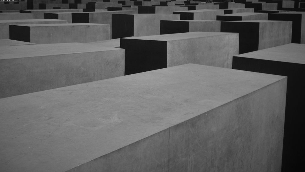Photo in Architecture #berlin #holocaust memorial #peter eisenman #architecture #b&w #germany