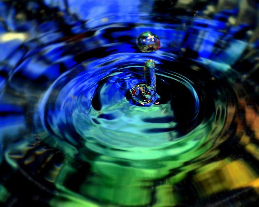 Photo in Random #water drop #abstract